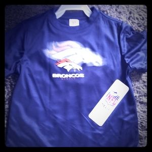 denver Broncos Youth performance tee shirt